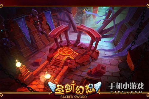 《圣剑幻想》的游戏场景既包含了欧式建筑的精致