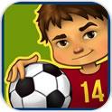 小孩子的足球