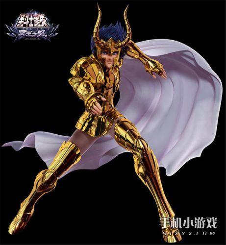 矢OL》游戏中黄金十二宫圣斗士的精模-圣斗士星矢OL 新版CG曝光