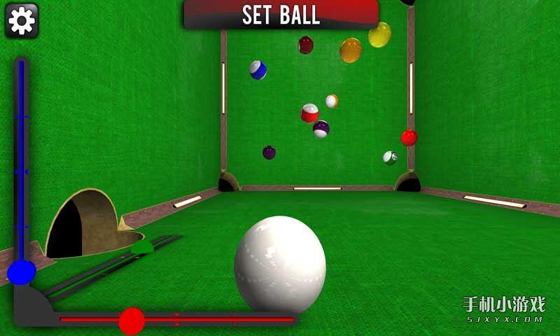 《三维空间台球 Cuebox》是一款3D创新型台球类游戏。这款游戏没有重力的概念,所有的台球都只能通过反弹,最后停在空间的任何位置。游戏有多种视角可以选择,还提供鱼眼选项,带给你有趣的体验。你可以选择经典的8球9球模式,有三种难度模式,也可以与人对战。快来试试吧!