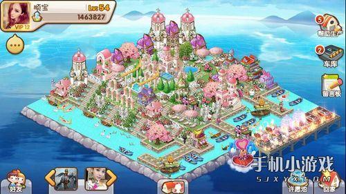 手机游戏 手机网游 全民小镇 游戏攻略 全民小镇爱琴海小镇如何布局