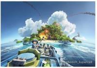 《海島奇兵》游戲載入主畫面官方原設計稿