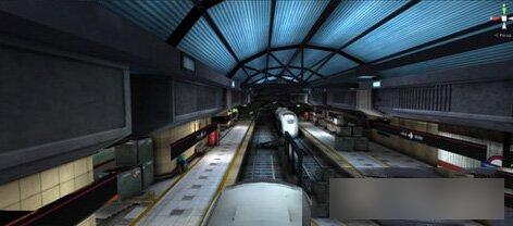 幽灵模式新地图 地铁站