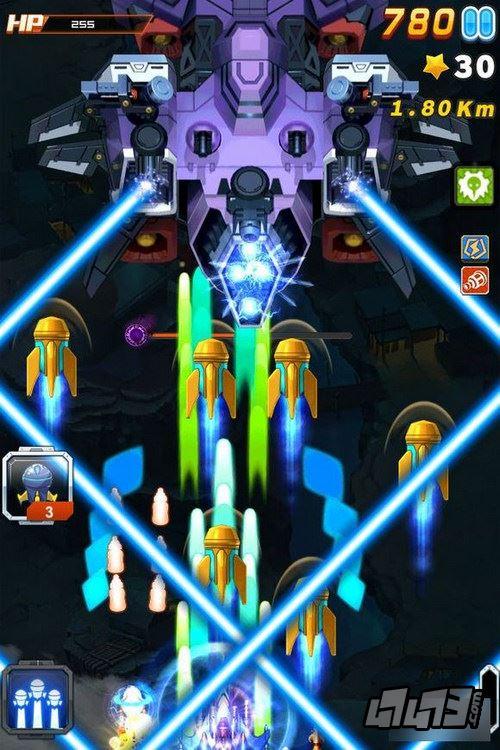 手机游戏 单机游戏 全民飞机大战
